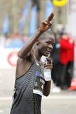 Atleta Abel Kirui del Kenyan Imagen de archivo