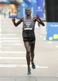 Atleta Abel Kirui del Kenyan Imágenes de archivo libres de regalías