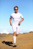 Atleta bawi się sprawność fizyczna biegacza bieg zdjęcie stock