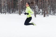 Atleta bieg napadu kobiety dziewczyny Sporty jogger zdjęcia stock