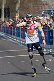Atleta britânico imagens de stock royalty free