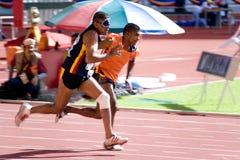 Atleta cego Imagens de Stock