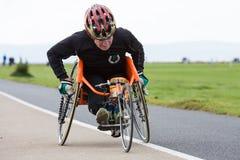 Atleta con incapacidades Foto de archivo libre de regalías