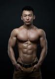 Atleta coreano foto de stock royalty free