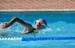 Atleta de la natación imagenes de archivo