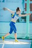 Atleta de Ucrania Foto de archivo libre de regalías