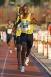 Atleta de Yibuti Ayanleh Souleiman Foto de archivo