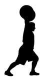 Atleta del levantador de peso Fotografía de archivo libre de regalías
