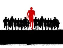 Atleta di conquista Immagini Stock Libere da Diritti