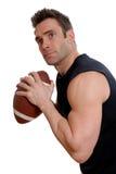 Atleta di gioco del calcio fotografie stock libere da diritti