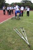 Atleta disabile Immagini Stock