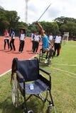 Atleta disabile Fotografia Stock Libera da Diritti