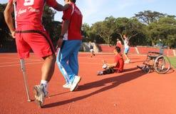 Atleta discapacitado Fotos de archivo libres de regalías