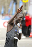 Atleta keniano Abel Kirui Immagine Stock