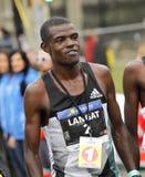 Atleta keniano Leonard Kipkoech Langat Fotografia Stock Libera da Diritti