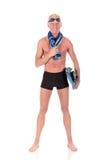 Atleta, nuotatore Immagini Stock