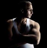 atleta przystojna Obraz Stock
