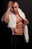 atleta ręcznik Obraz Stock