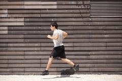 Atleta Running foto de stock