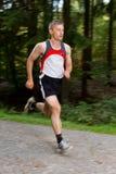 Atleta Running Fotografia de Stock Royalty Free