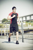 Atleta running foto de stock royalty free