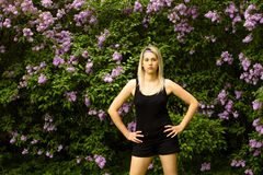 Atleta sicuro Fotografia Stock Libera da Diritti