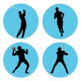 atleta sporty ilustracji