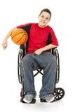 Atleta teenager invalido Fotografia Stock Libera da Diritti