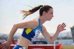 Atleta ucraniano Foto de archivo