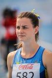 Atleta ucraniano Fotografía de archivo