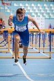 Atleta ucraniano foto de stock