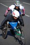 Atletas de Disbaled Foto de archivo libre de regalías