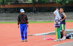 Atletas lisiados Imagen de archivo libre de regalías