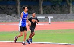 Atletas lisiados Foto de archivo