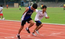 Atletas lisiados Fotografía de archivo