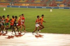 Atleti Fotografia Stock Libera da Diritti