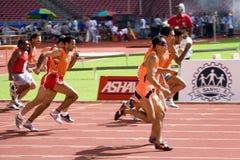 Atleti ciechi fotografia stock libera da diritti