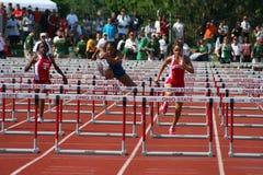 Atleti femminili Fotografia Stock