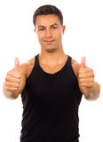 Atletic Man Royalty Free Stock Photography