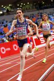 Atletica - donna 1500m, TERZIC Amela Fotografie Stock