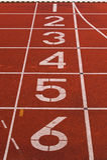 Atletica leggera Fotografia Stock Libera da Diritti