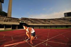 Atletica leggera 50 Fotografia Stock Libera da Diritti