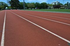 Atletica nella città Fotografia Stock