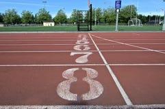 Atletica nella città Fotografie Stock Libere da Diritti