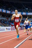 Atletica PESIC Darko - heptathlon dell'uomo, 1000m Immagini Stock Libere da Diritti