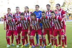 Atletico de马德里队员 免版税库存照片