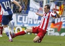 atletico Diego godin Μαδρίτη στοκ εικόνες με δικαίωμα ελεύθερης χρήσης