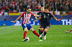 Atletico Madrid (1-0) Bayern Munich Stock Foto