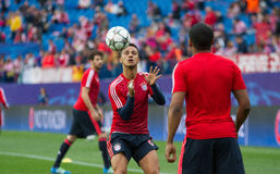 Atletico Madrid 1-0 Bayern Munich Stock Image