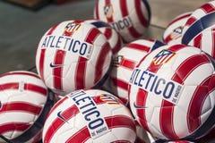 Atletico Madryt piłki Zdjęcia Royalty Free